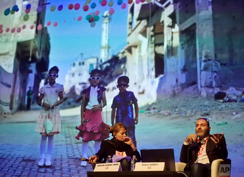Khalil Hamra at Visa Pour L'Image
