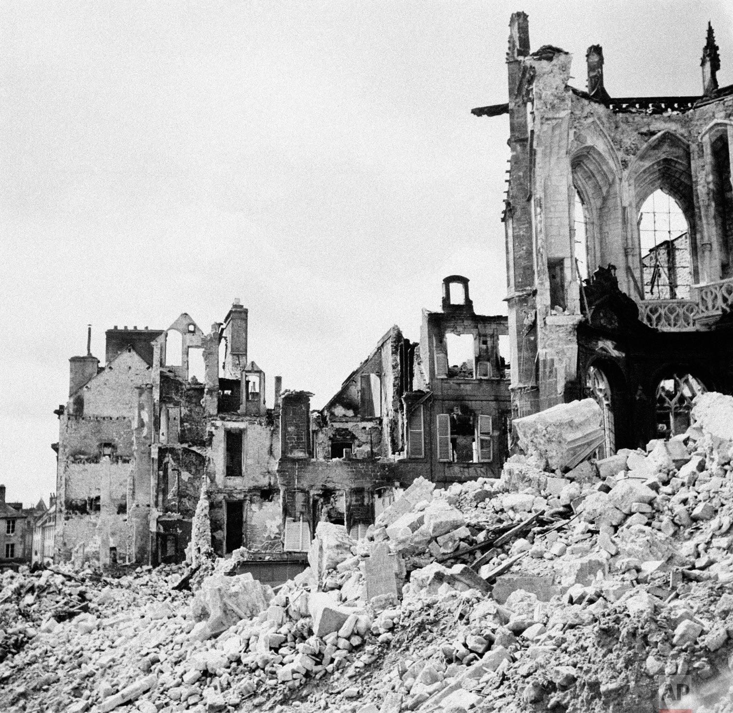 WWII France Destruction