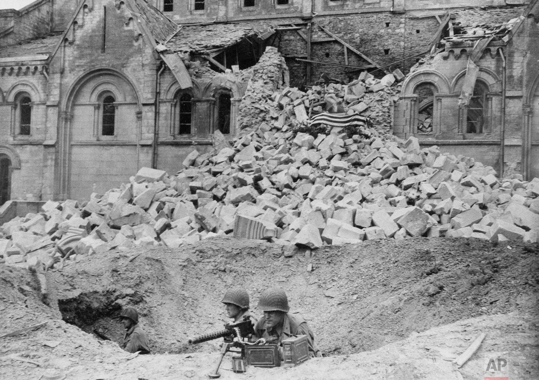 WWII France U.S. Dead