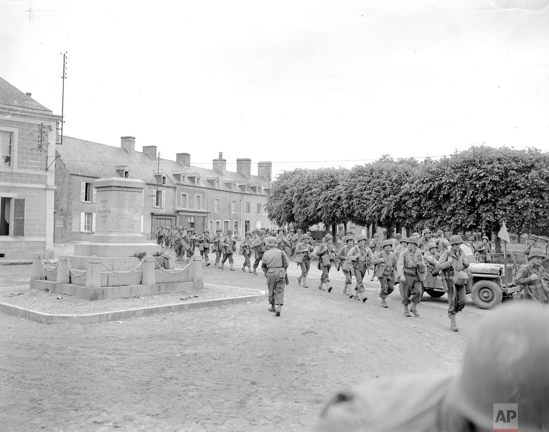 WWII France Sainte-Marie-du-Mont