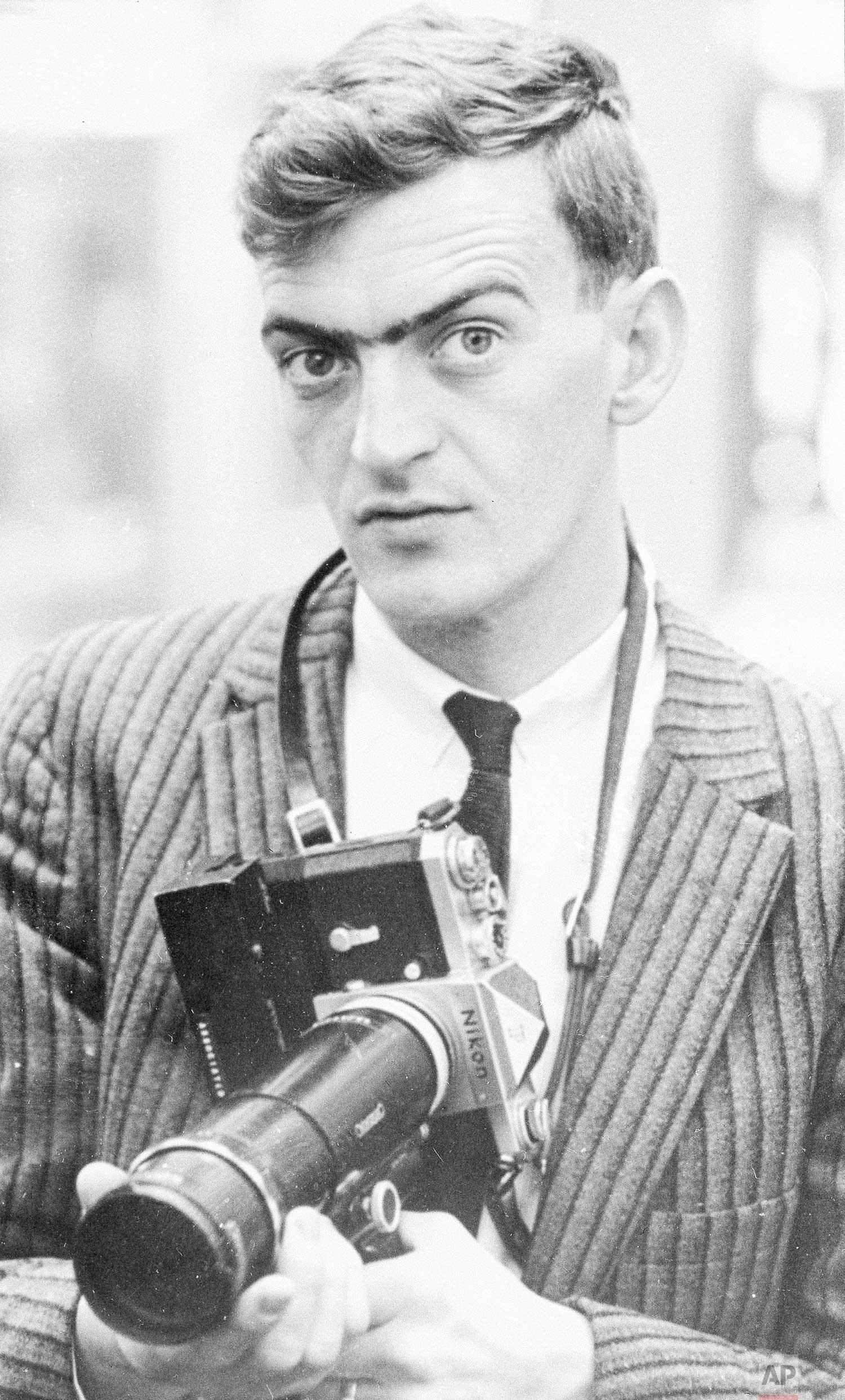AP Photographer Bob Daugherty, 1965. (AP Photo/Corporate Archives).