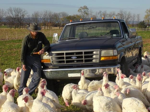 Clement Slothour and his flock