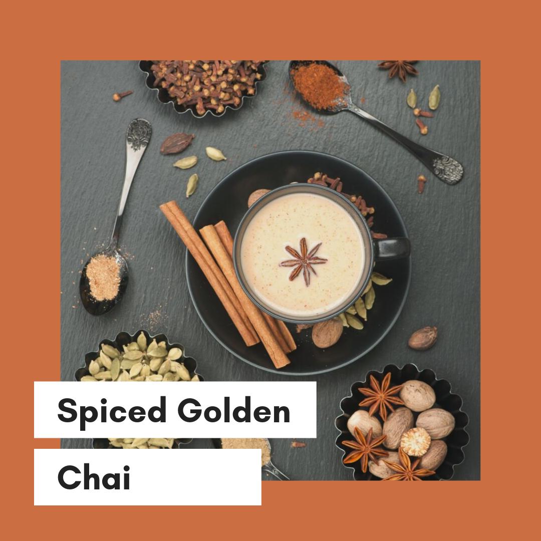 spiced tumeric golden chai