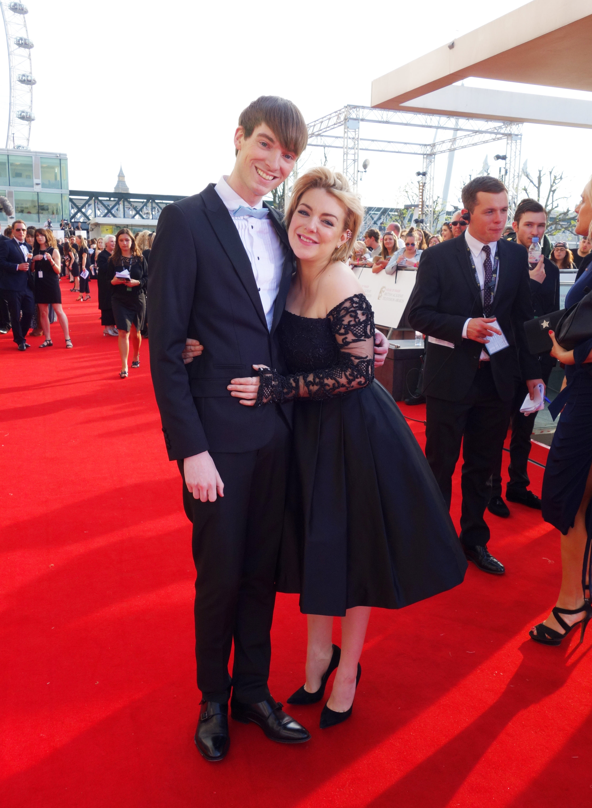 Richard Brownlie-Marshall & Sheridan Smith