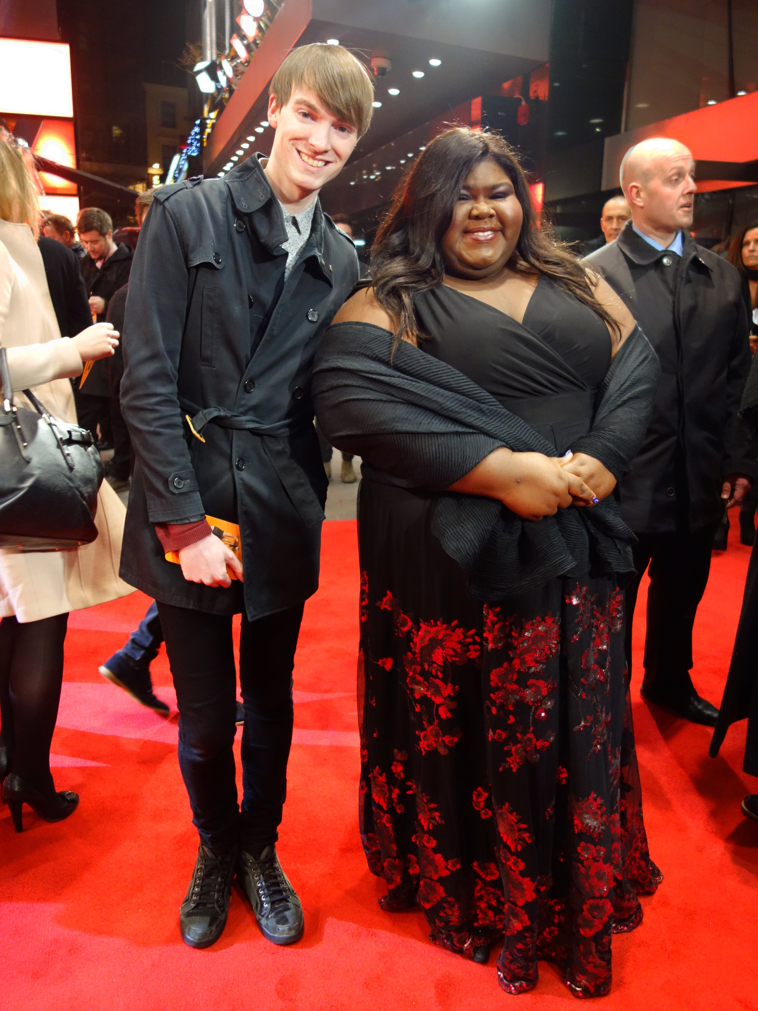 Richard Brownlie-Marshall & Gabourey Sidibe