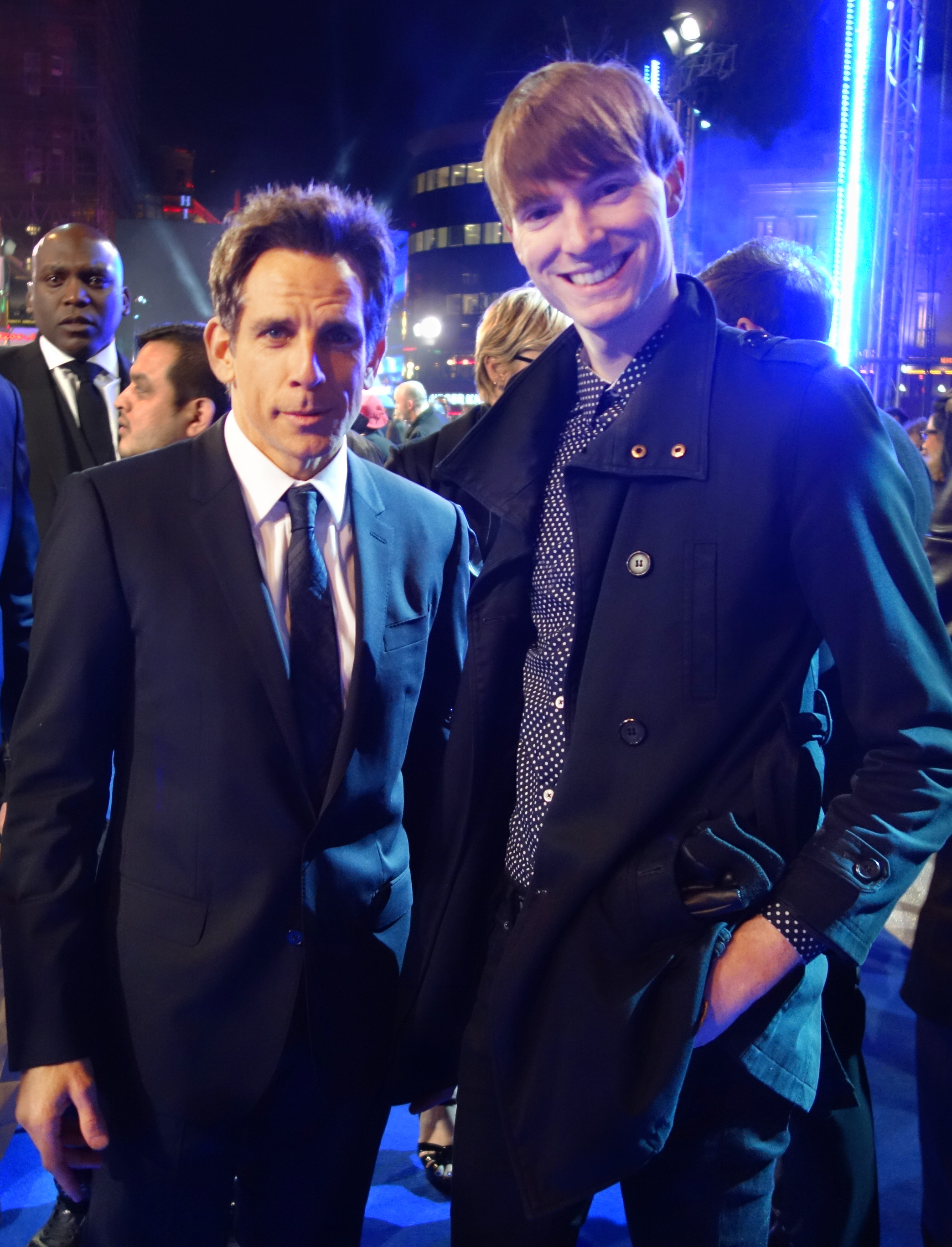 Ben Stiller & Richard Brownlie-Marshall