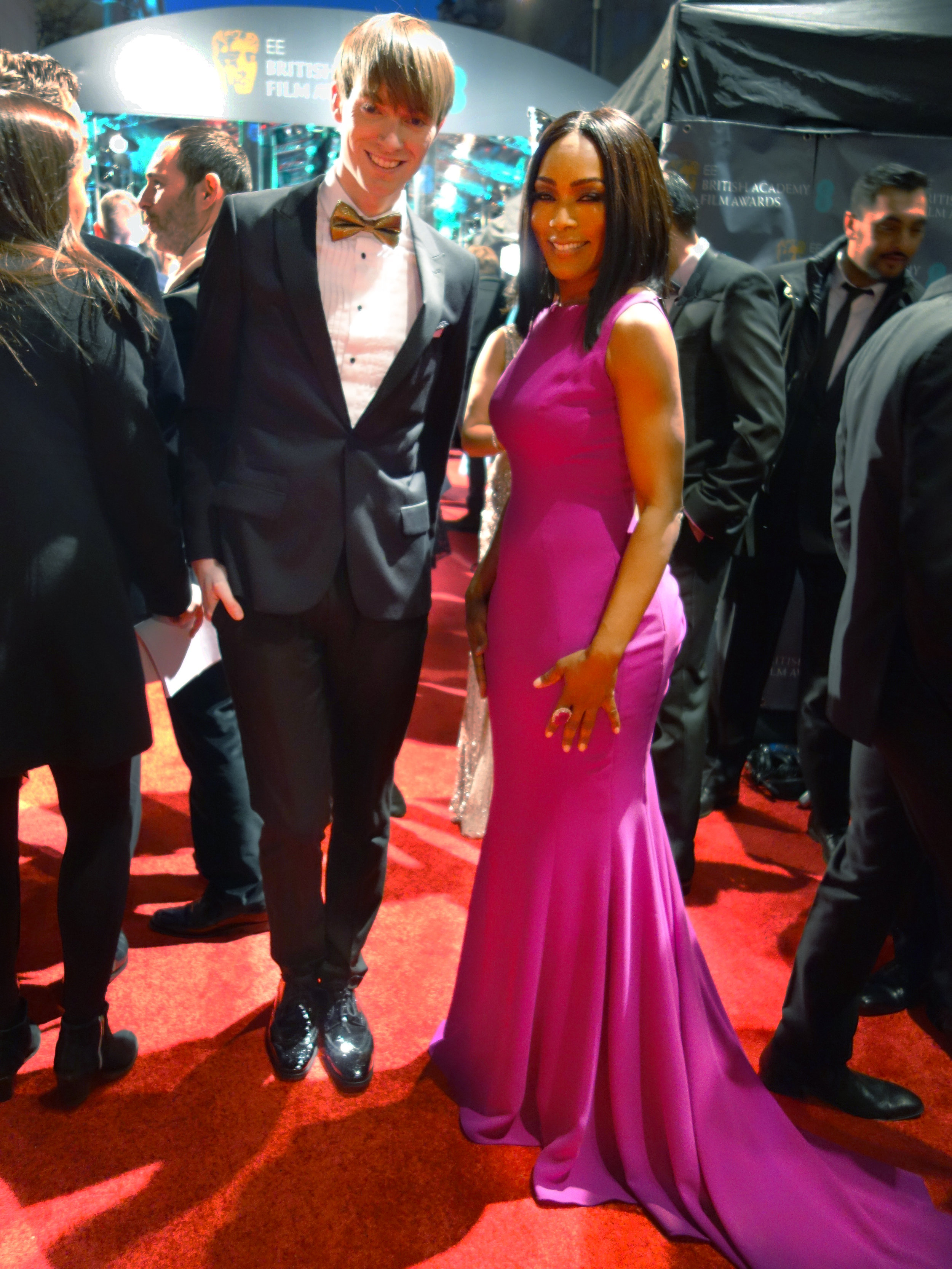 Richard Brownlie-Marshall & Angela Bassett