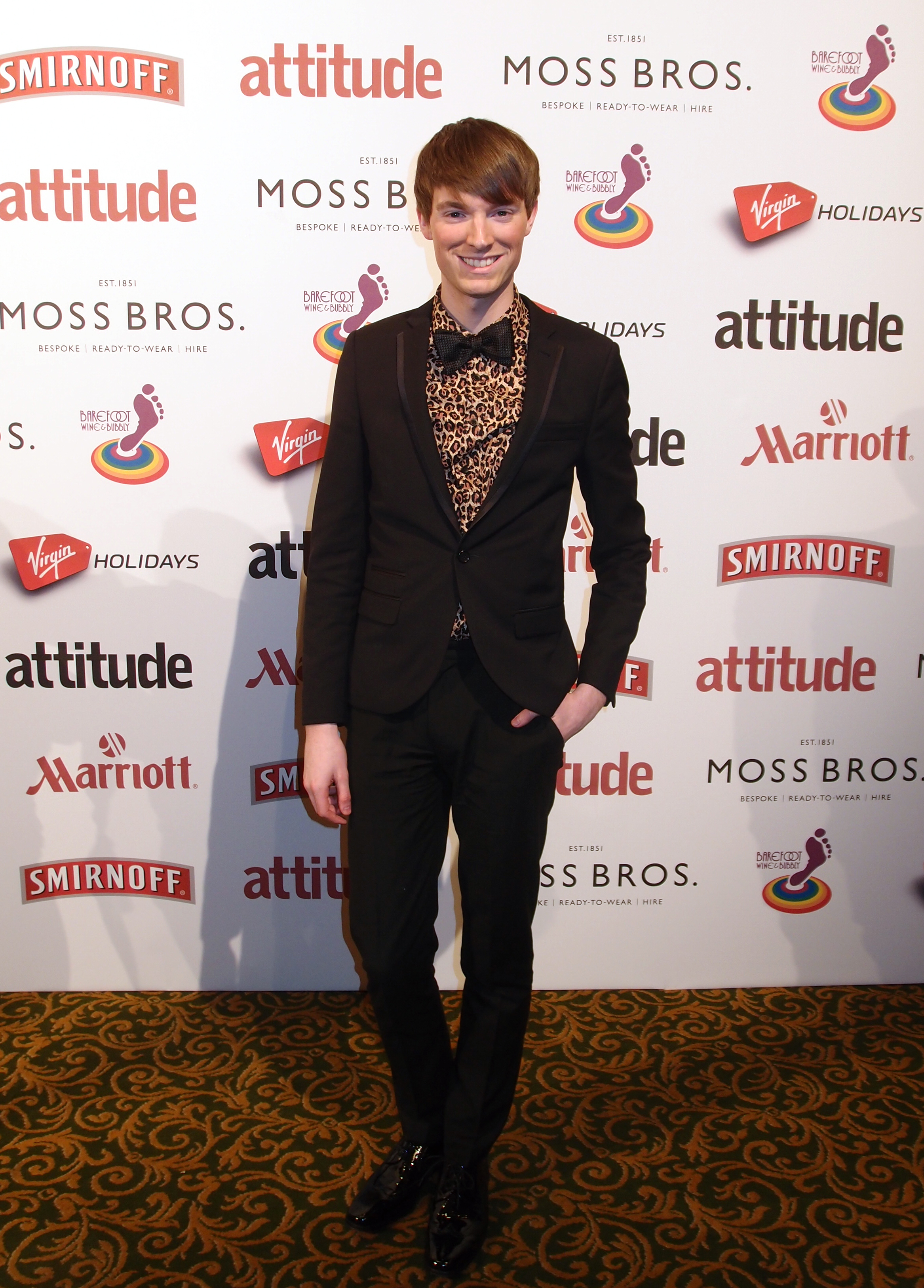 Richard Brownlie-Marshall at Attitude Awards
