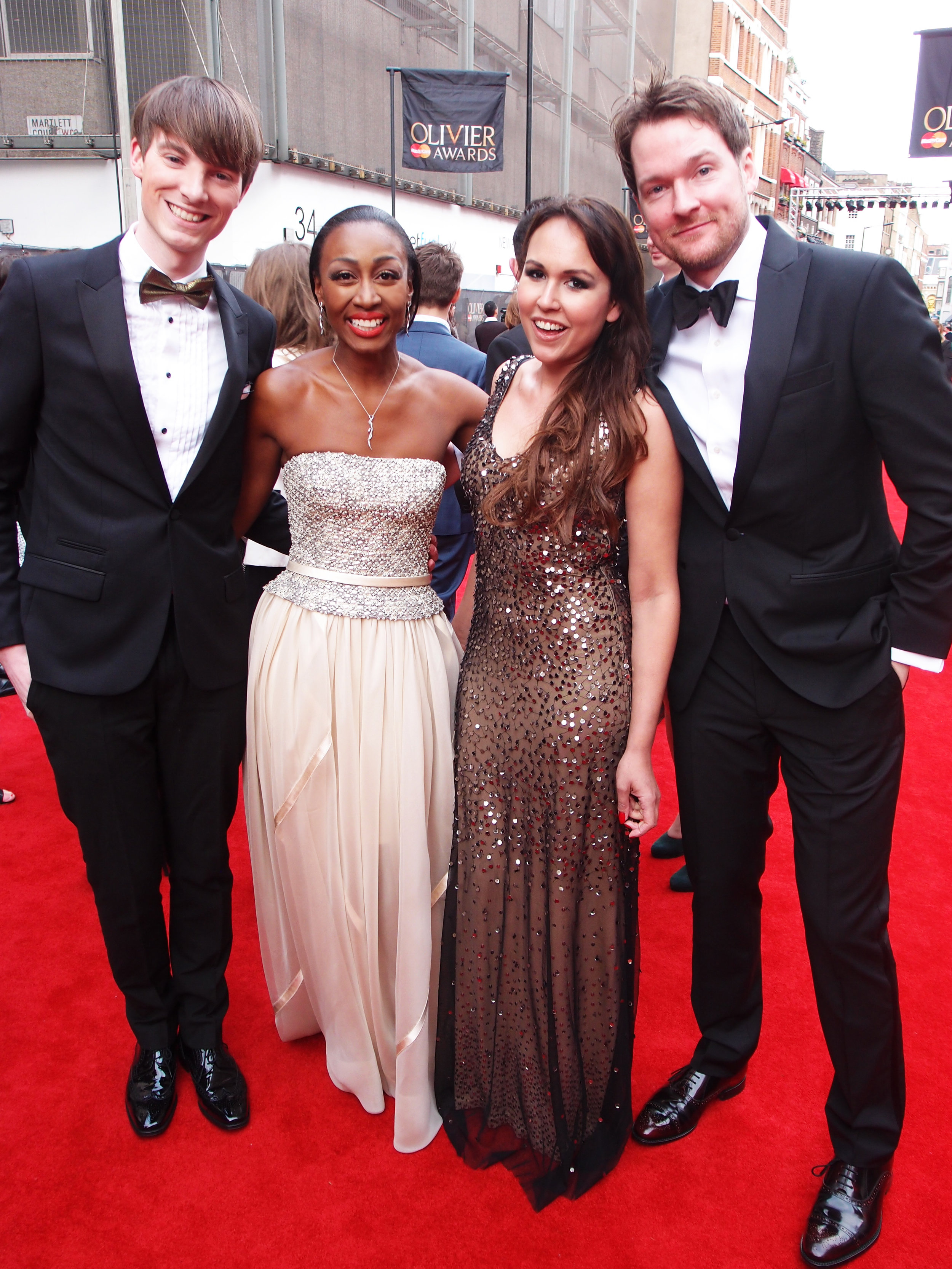 Beverley Knight, Killian Donnelly & Richard Brownlie-Marshall