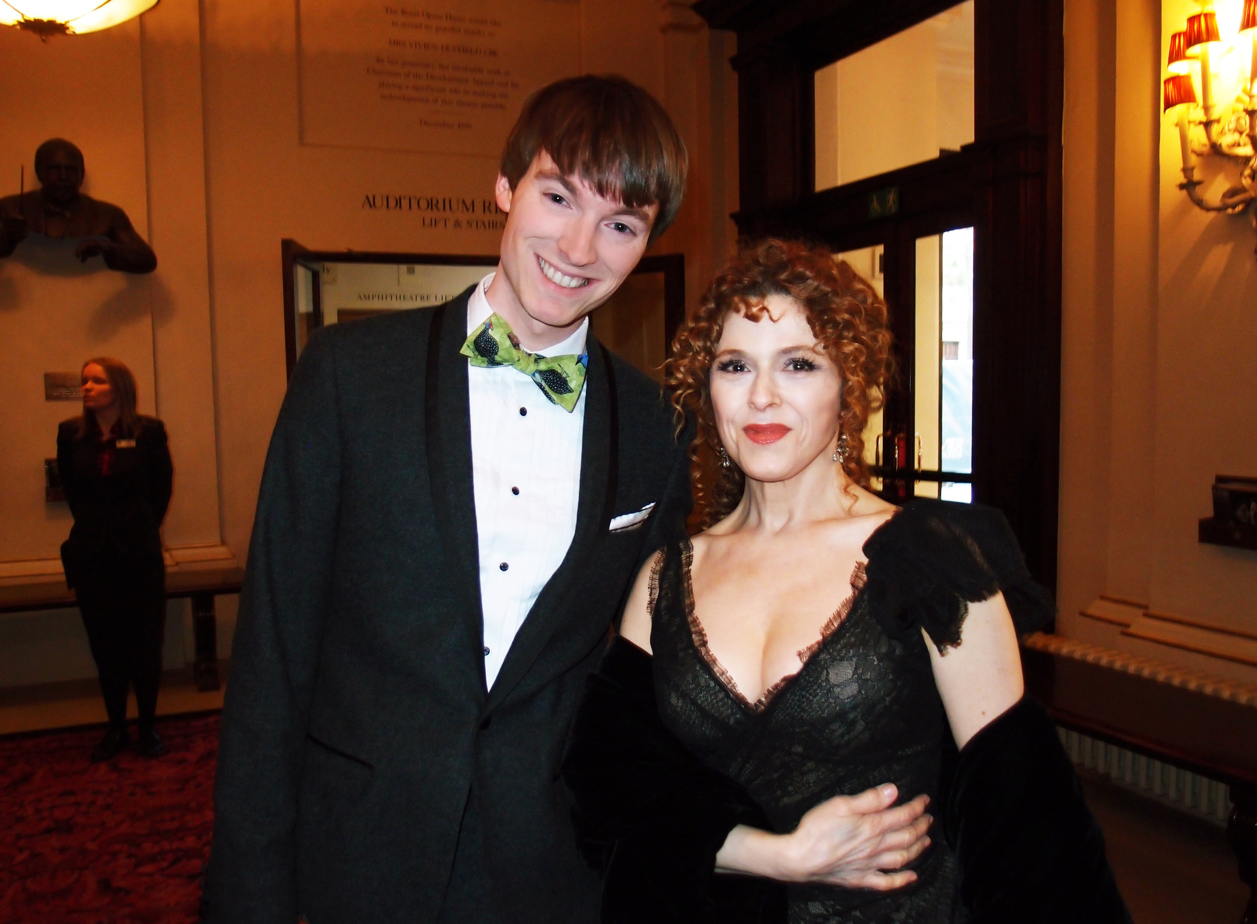 Richard Brownlie-Marshall & Bernadette Peters