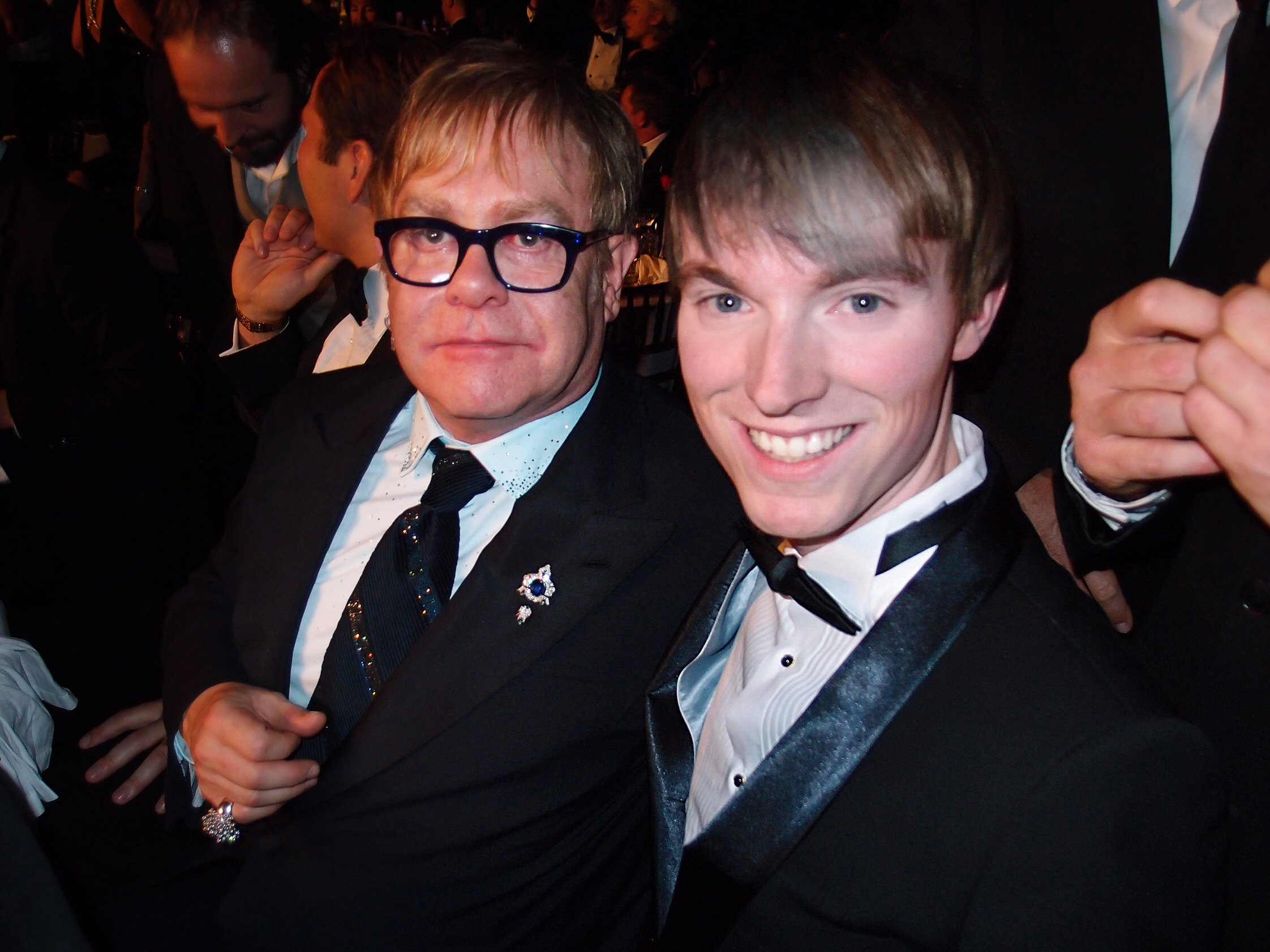 Elton John & Richard Brownlie-Marshall