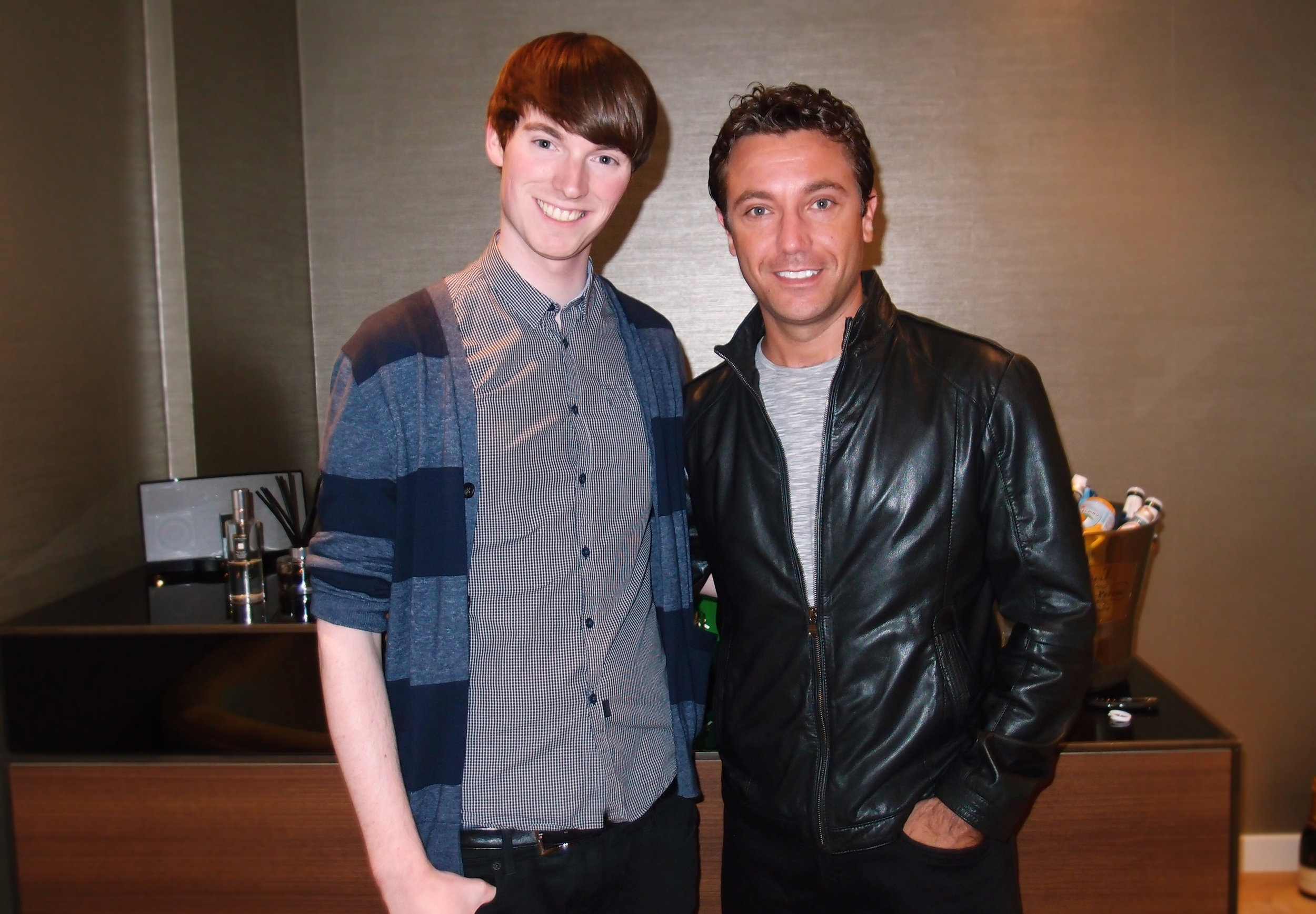Richard Brownlie-Marshall & Gino D'Acampo