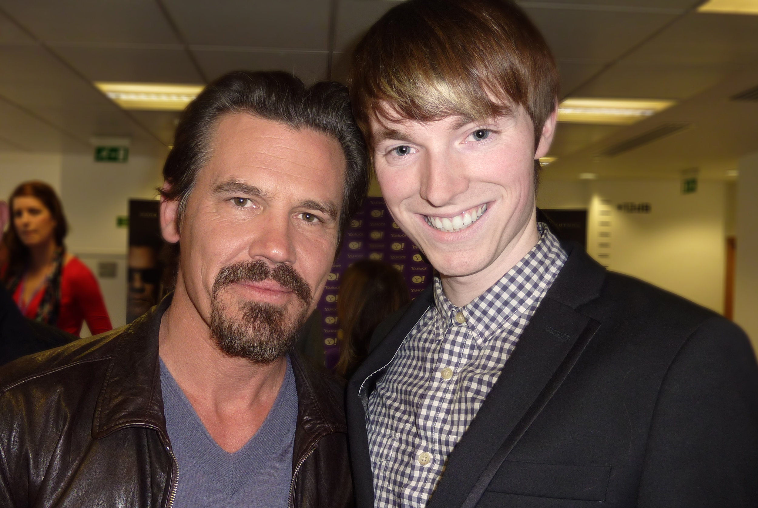 Josh Brolin & Richard Brownlie-Marshall