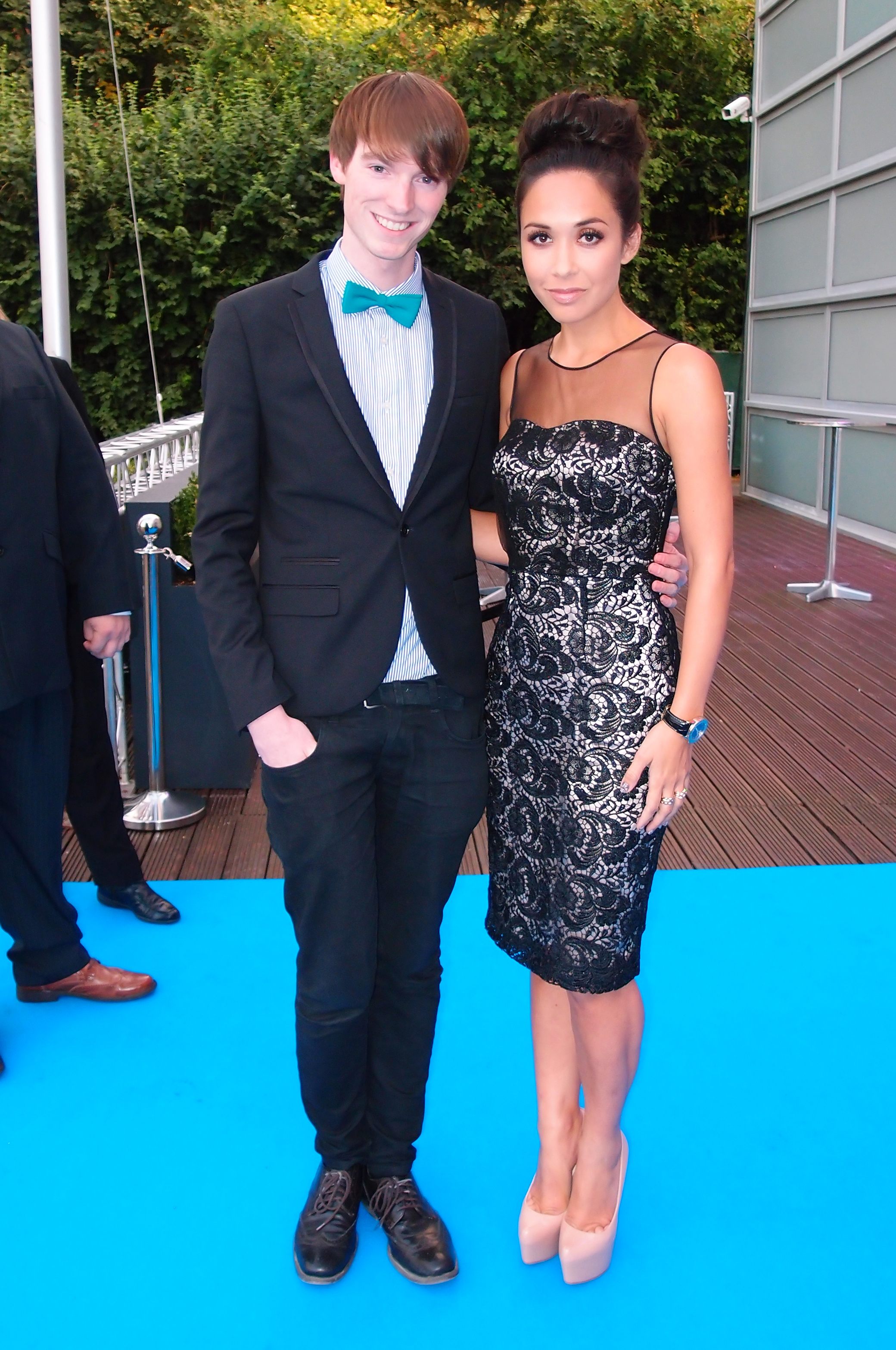 Richard Brownlie-Marshall & Myleene Klass