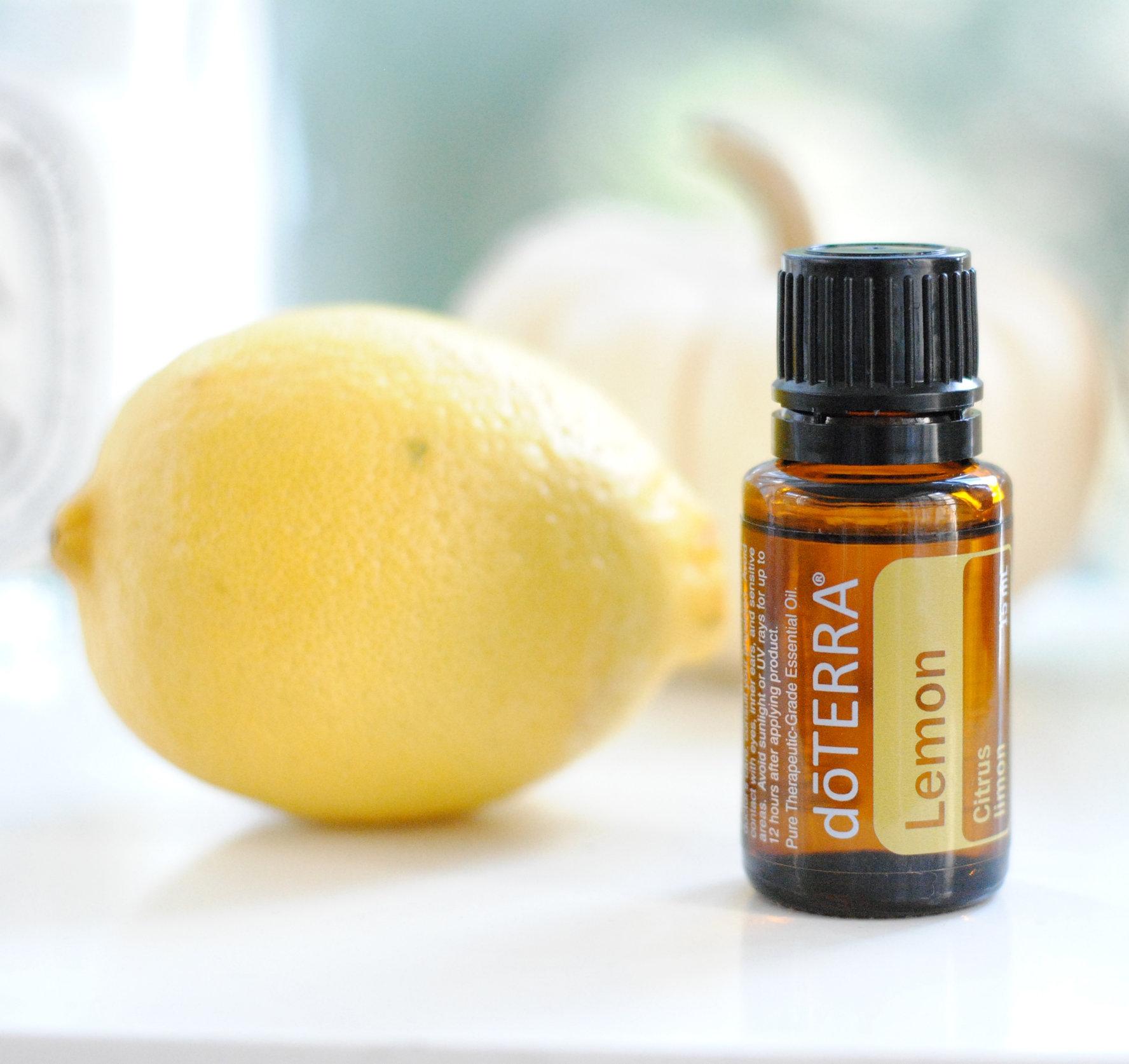 lemon oil doterra
