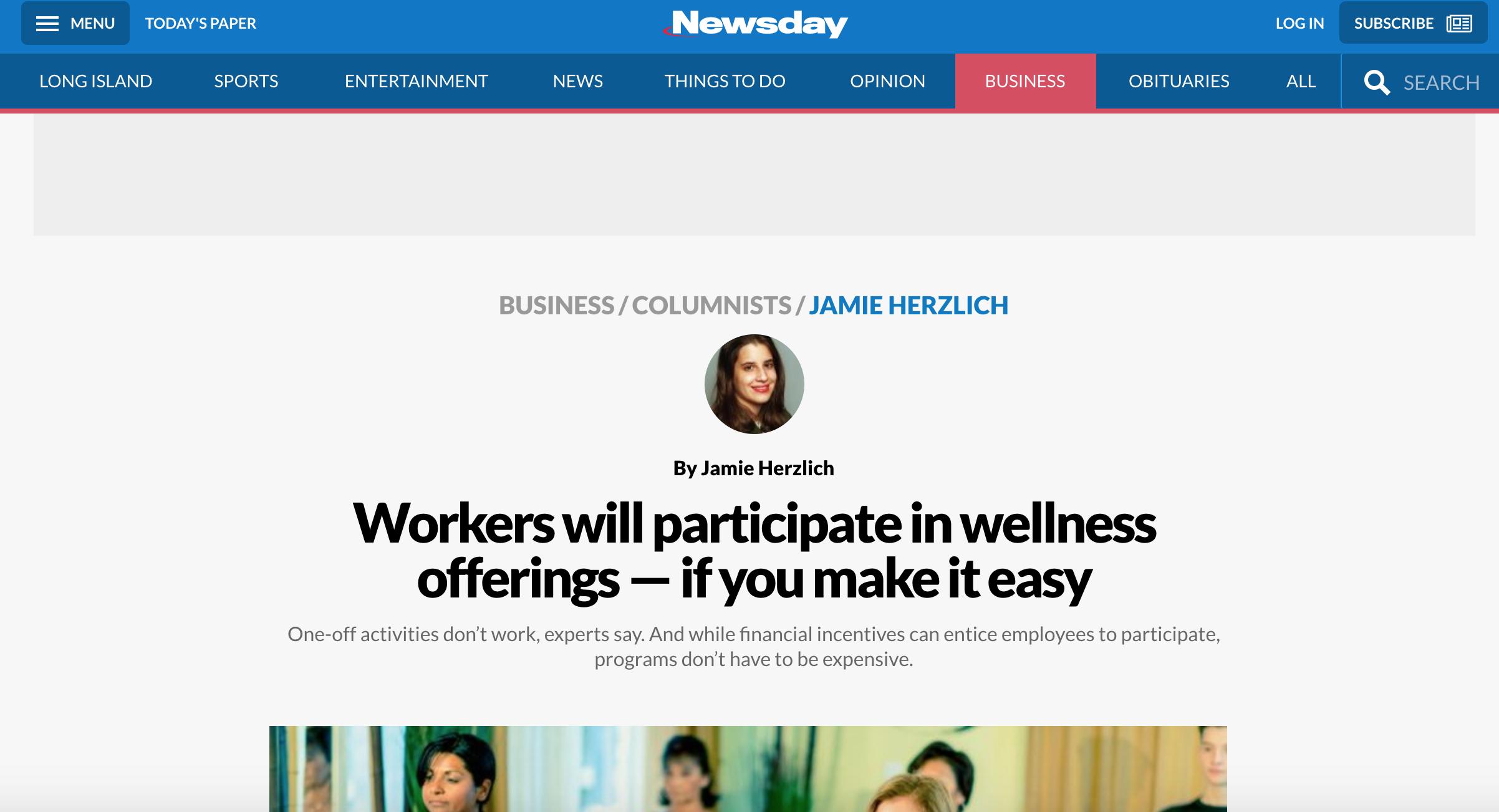 Newsday March 2018