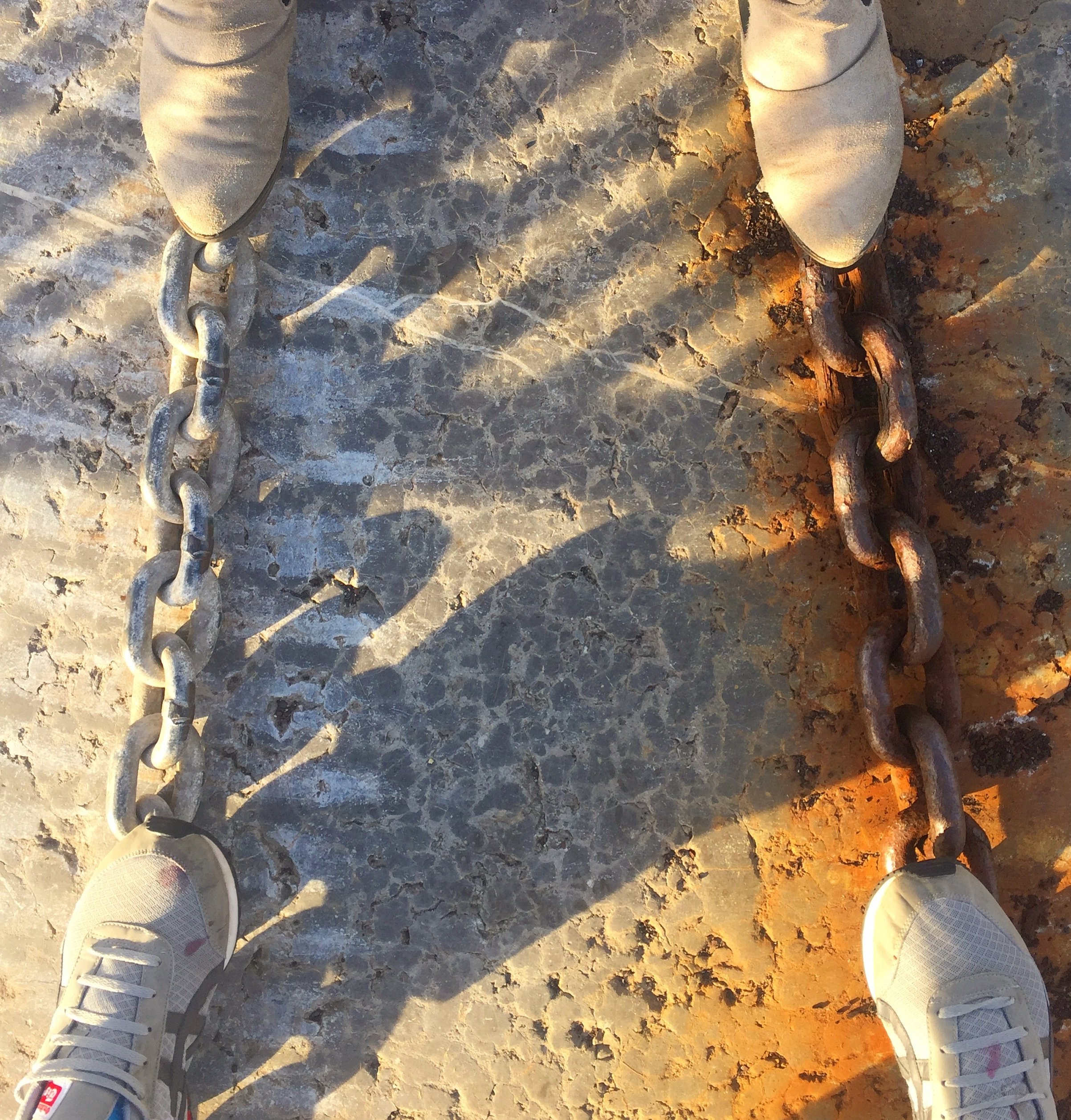 foot_old_chains_rust_Donaghadee_town_harbour_pier_ni_explorer_niexplorer