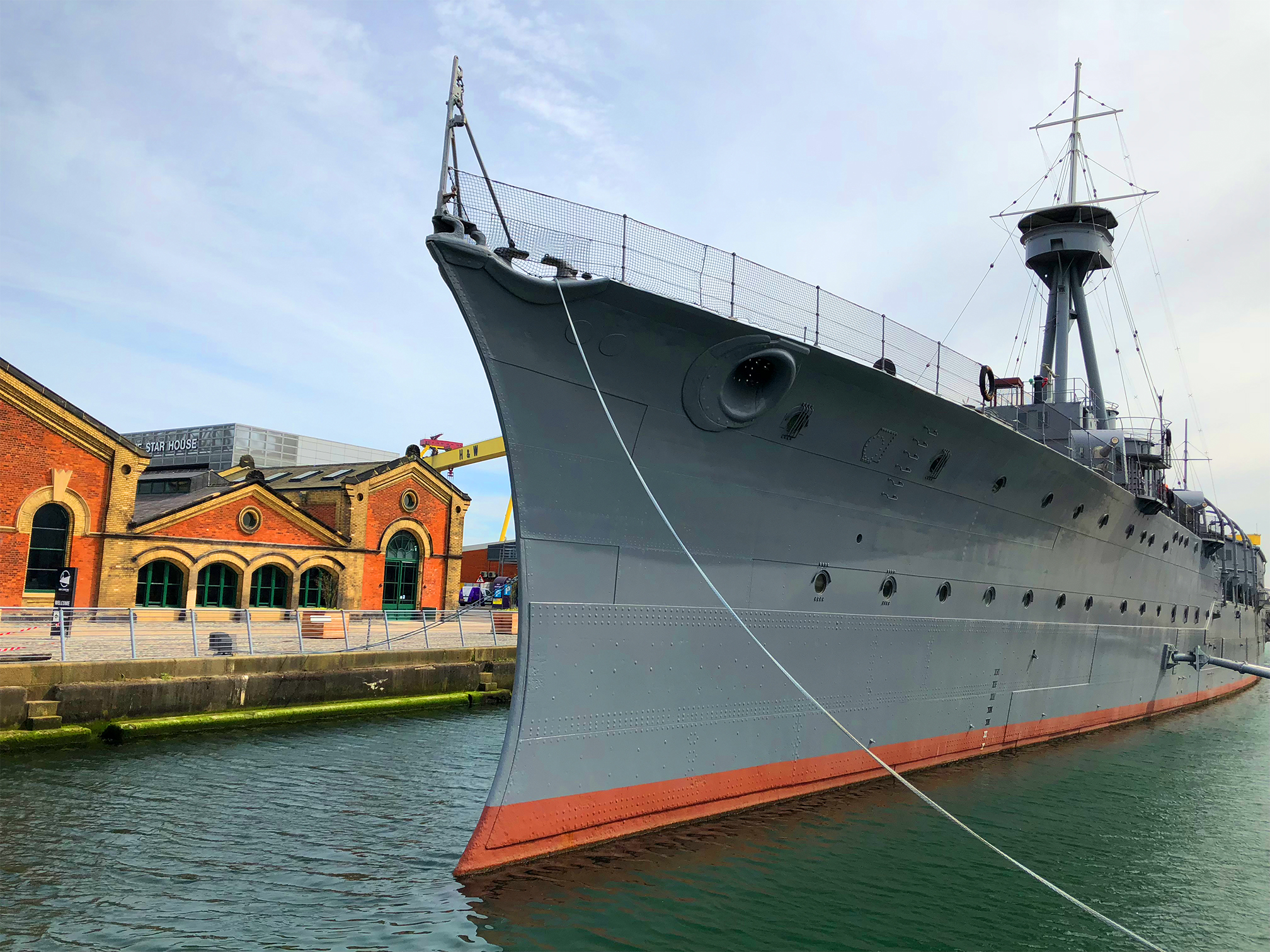 HMS CAROLINE NEEDS YOU -