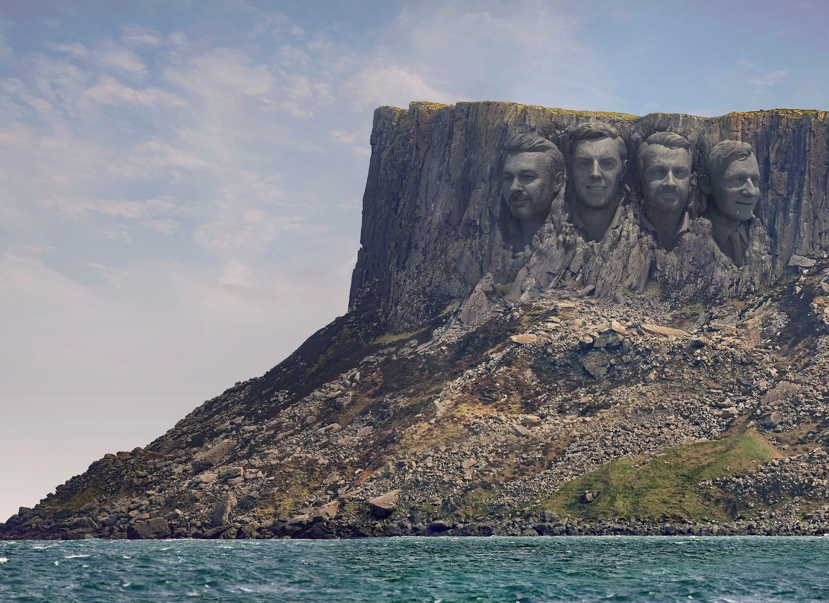 MOUNT RUSHMORE IN NORTHERN IRELAND? -