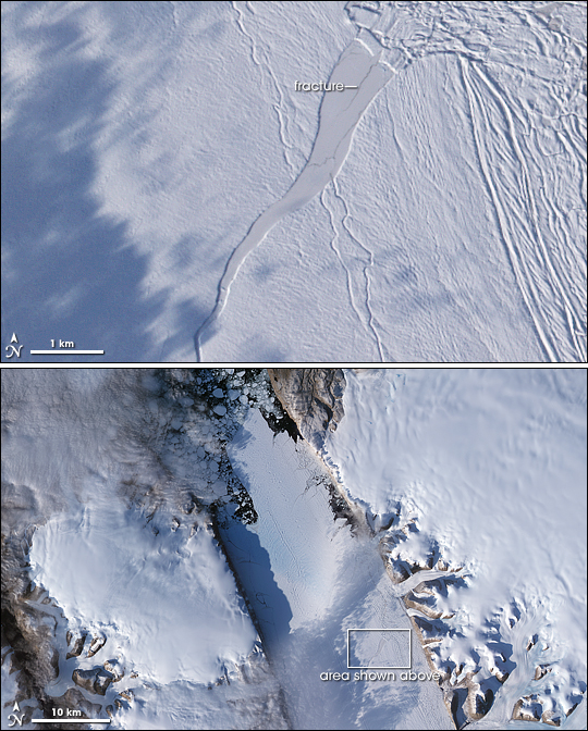 NASAPetermannGlacier
