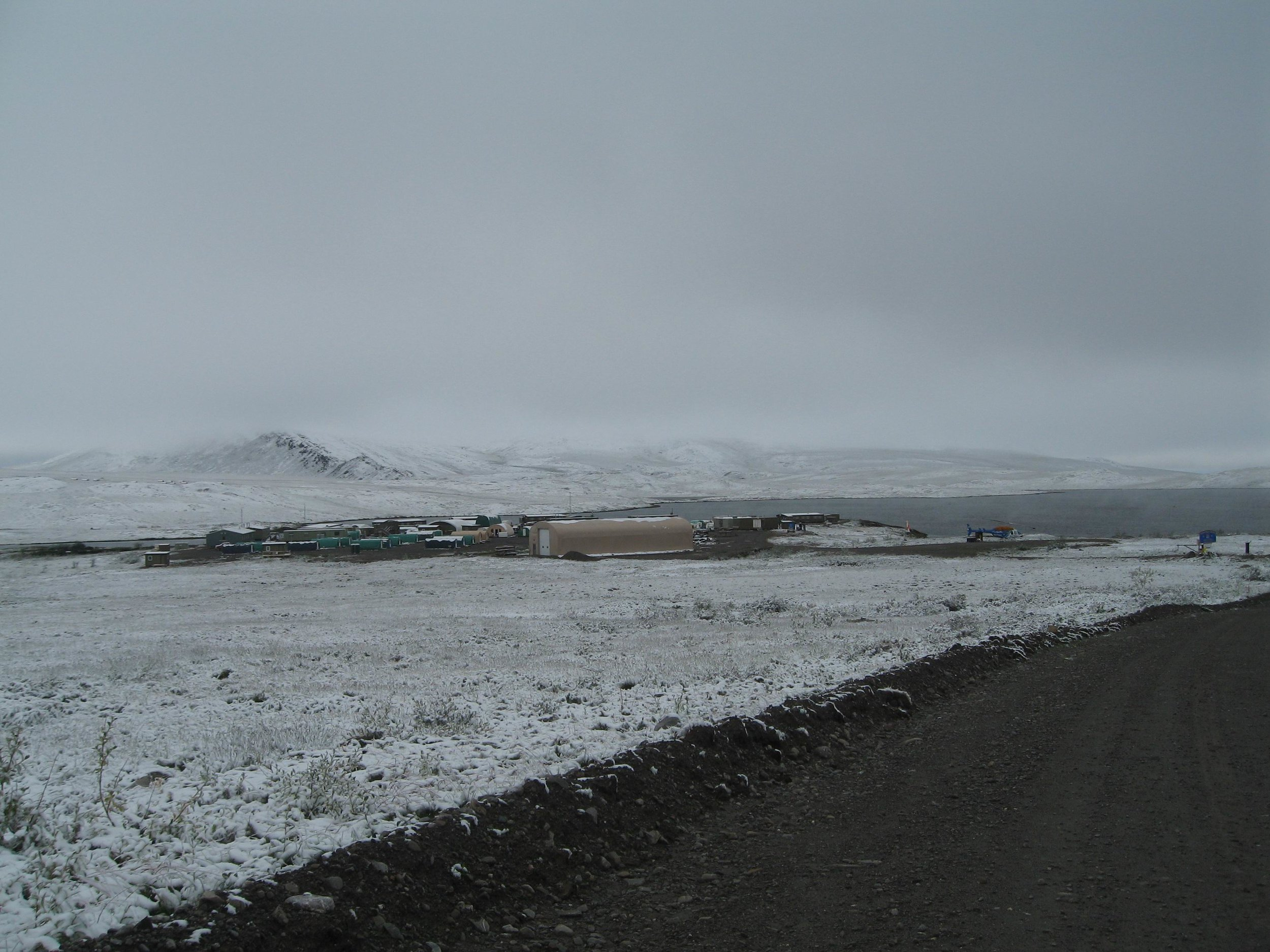 Snow 9 Aug