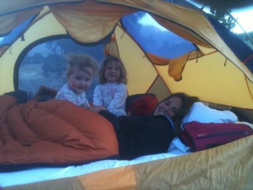 Naomi.GSD tent shot