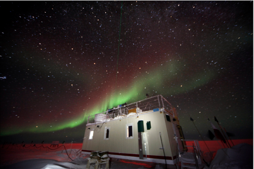 Auroras over MSF