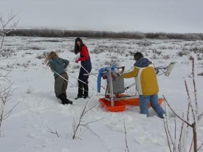 tripod in snow1