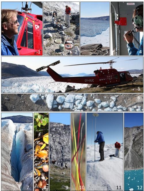 KNS Glacier flight