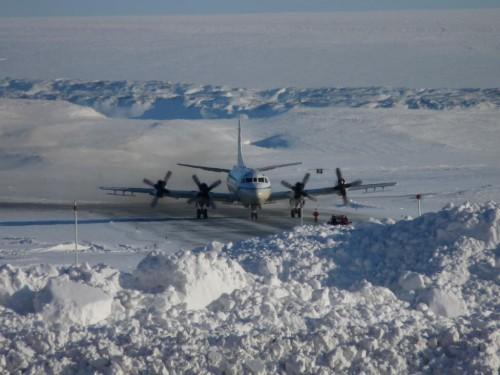 P3B arrives at Thule