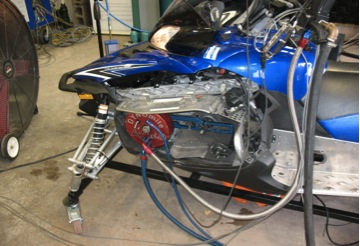 Dynamometer testing is part of the complicated static emissions event.