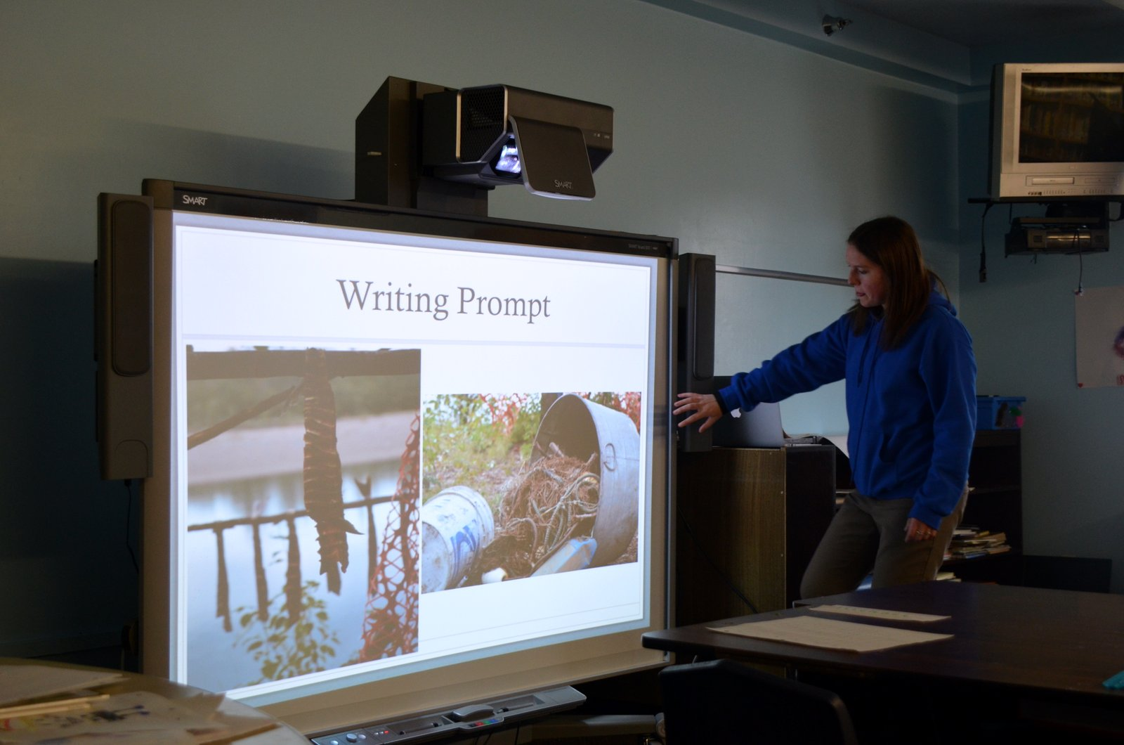 Teachers use video to enhance their lessons.