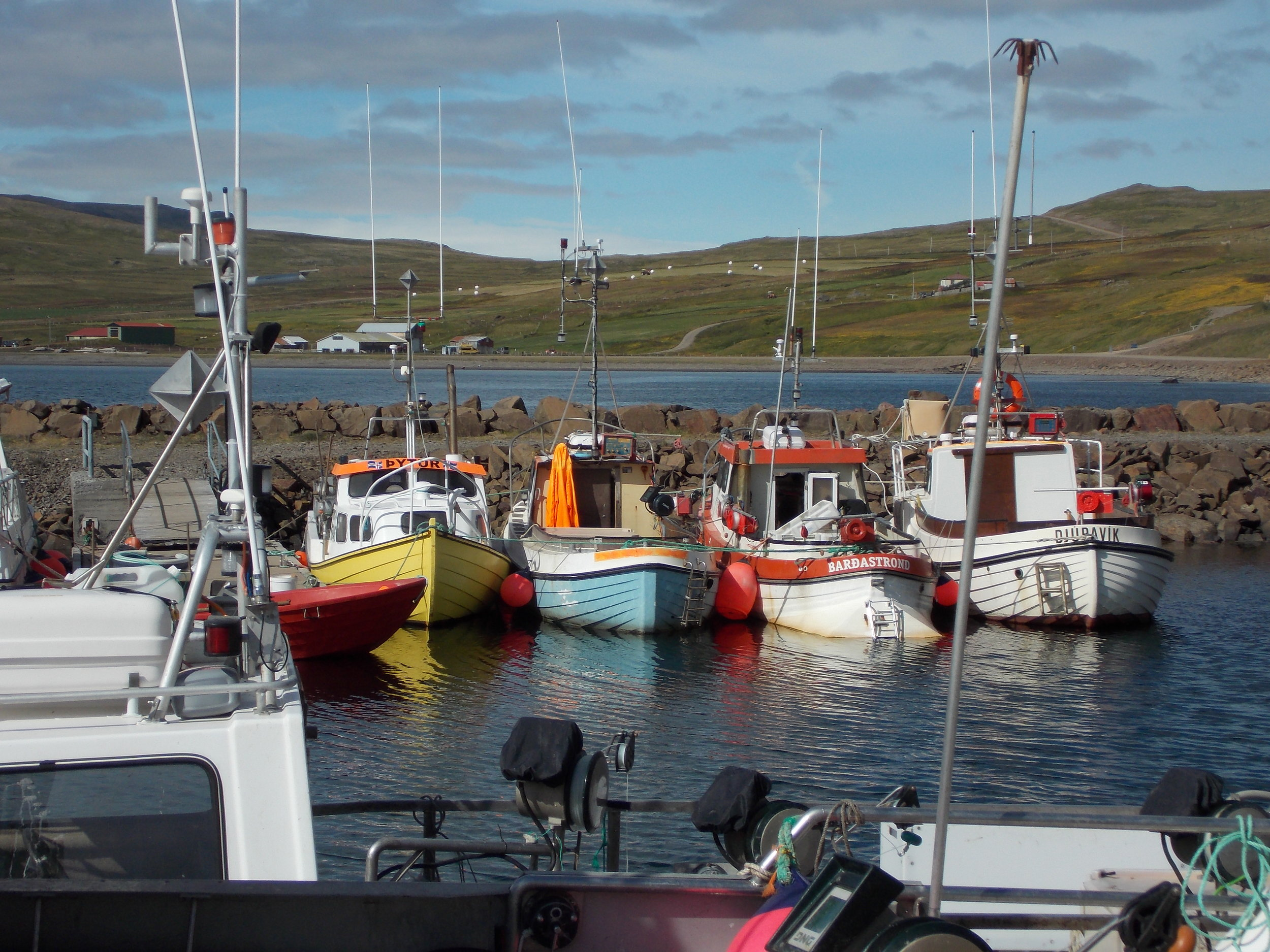 The settlement of Norðurfjörður is home to 50 people who are snowed in all winter when the roads shut down. In the summer the harbor in bustling with activity from visiting fishermen due to its close proximity to cod grounds. Photo: All photos courtesy of Catherine Chambers