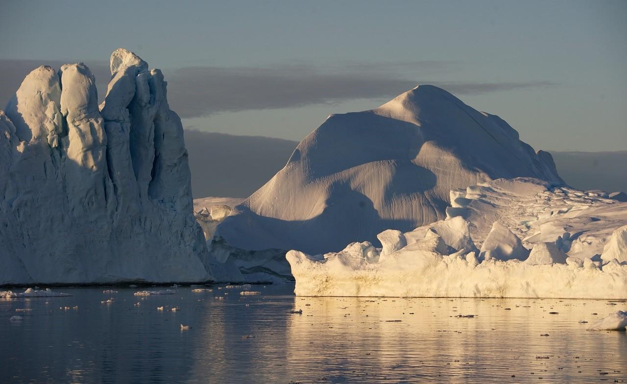 Icebergs. Photo: Slava Epstein