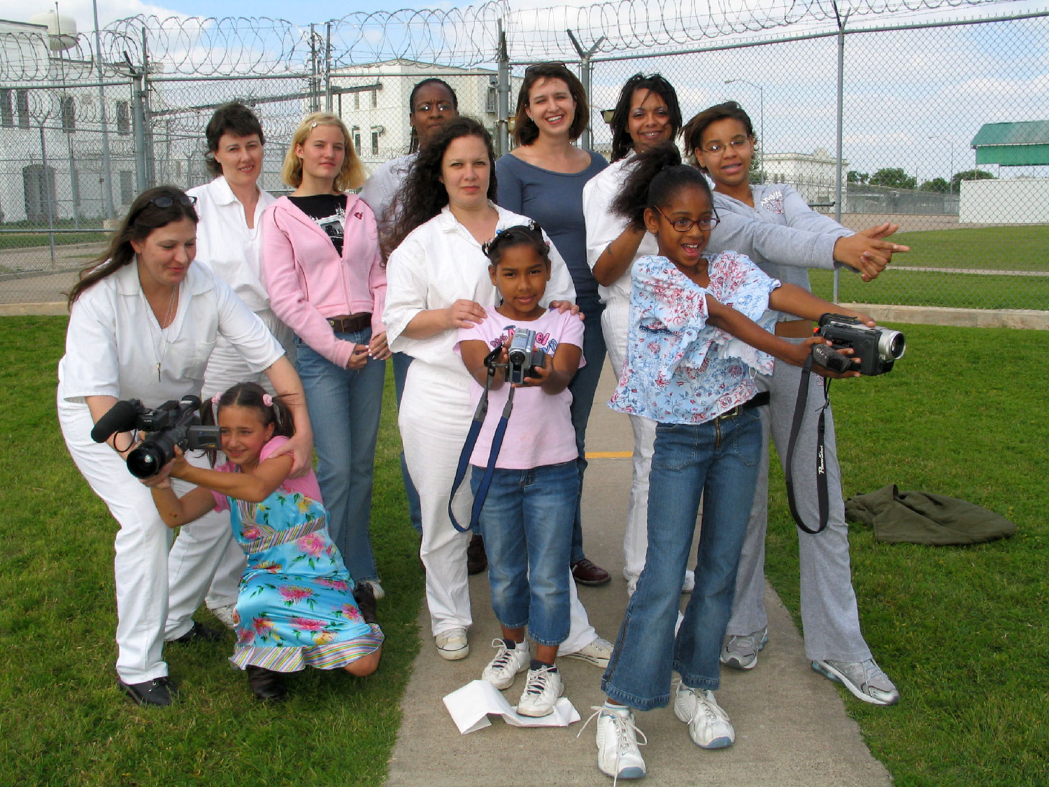 The Girls and Moms from Troop 1500