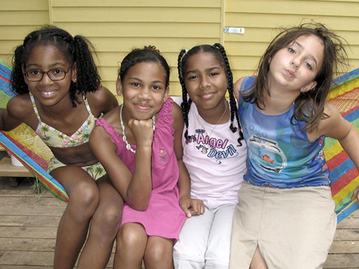 Girls from Troop 1500
