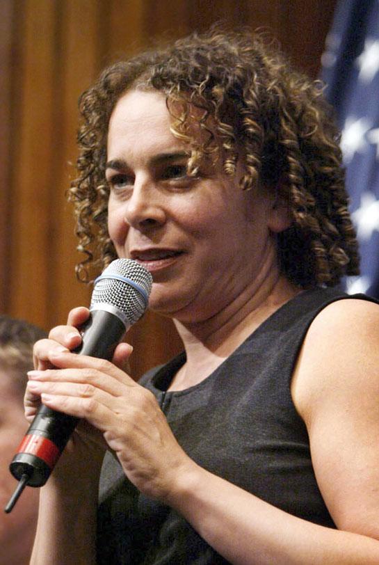 Ellen Spiro at a screening of Body of War at the National Press Club in Washington, D.C.