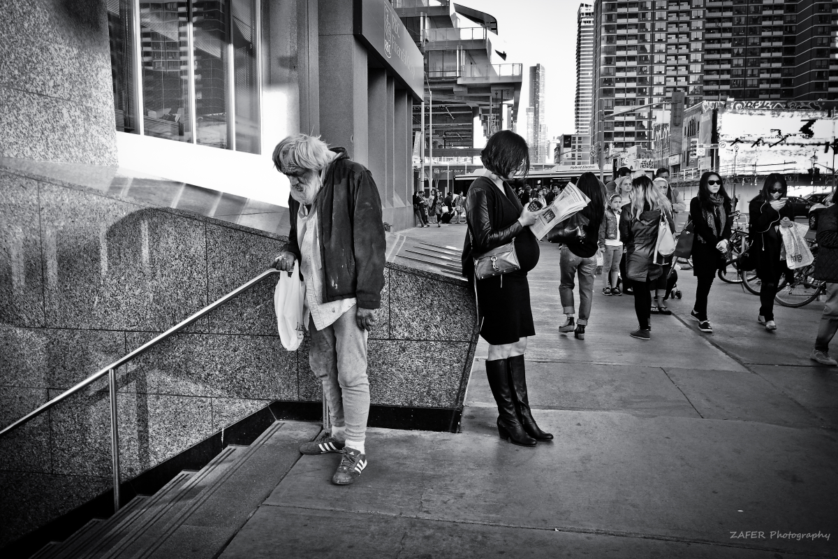 Photo captured on Bloor Street, Toronto