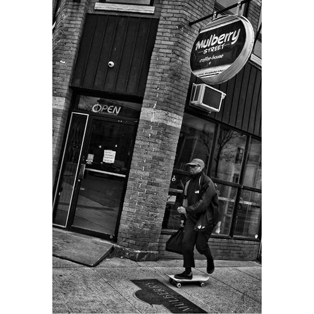 One of my all-time favourite coffee houses is Mulberry Street. I think half of the fun about doing street photography are the Caffè Americanos, the beer breaks and sunny patios. . . . #HamOnt #streetphotography #35mmphotography #candidphotography #streetphotographymagazine #streetphotography_bw #canpubphoto #streetleaks #35mmstreetphotography #life_is_street #storyofthestreet #skateboarding #streetphotographyinternational #35mmstreet #everybodystreet #streetphotographersmagazine #burnmagazine #streethunters #streetstories #blackandwhitestreet #zonestreet #fromstreetswithlove #in_public_sp #Streetphotographyworldwide #streetclassics #streetsgrammer #inpublic