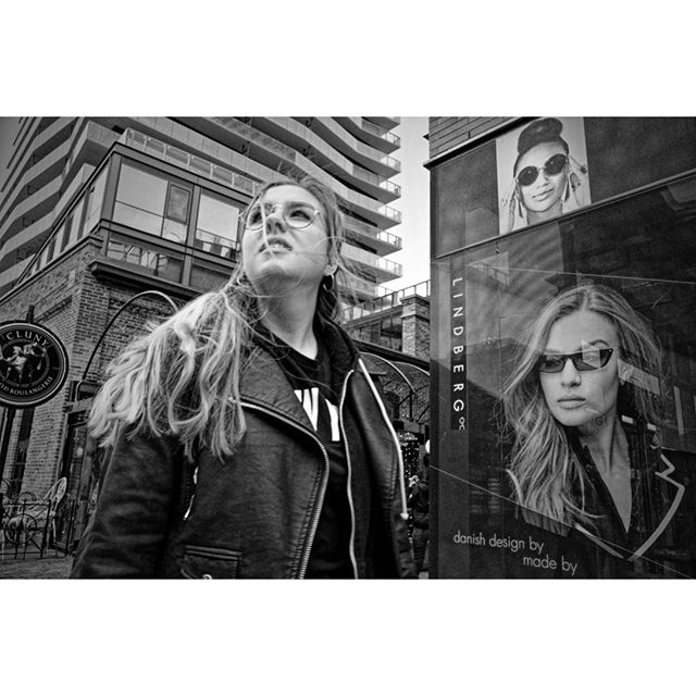 """Three Faces of Eve"" - candid shot at the Distillery District, Toronto . . #torontostreets #streetphotography #ricohgr #ricohgr3 #candidphotography #streetphotographymagazine #streetphotography_bw #canpubphoto #streetleaks #life_is_street #storyofthestreet #blooryorkville #streetphotographyinternational #grist #everybodystreet #streetphotographersmagazine #burnmagazine #streethunters #streetstories #blackandwhitestreet #zonestreet #fromstreetswithlove #28mm #Streetphotographyworldwide #streetclassics #streetsgrammer #inpublic"