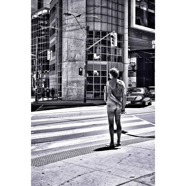 Naked in the City . . #torontostreets #streetphotography #28mm #candidphotography #streetphotographymagazine #streetphotography_bw #canpubphoto #streetleaks #ricohgr #life_is_street #storyofthestreet #dundassquare #streetphotographyinternational  #ricohgr3 #everybodystreet #streetphotographersmagazine #burnmagazine #streethunters #streetstories #blackandwhitestreet #zonestreet #fromstreetswithlove #in_public_sp #Streetphotographyworldwide #grist #streetsgrammer #inpublic