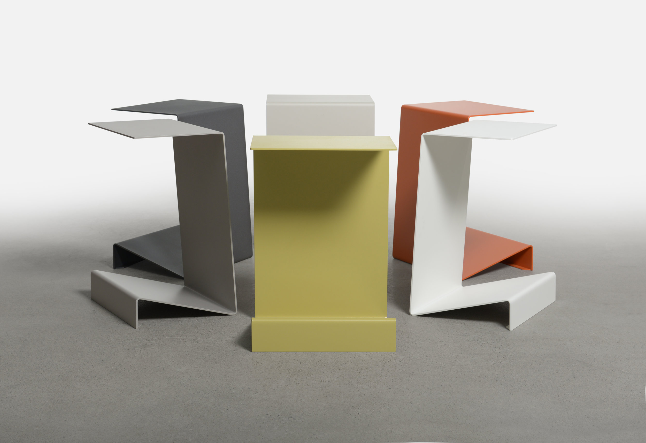 Zigzag End Table