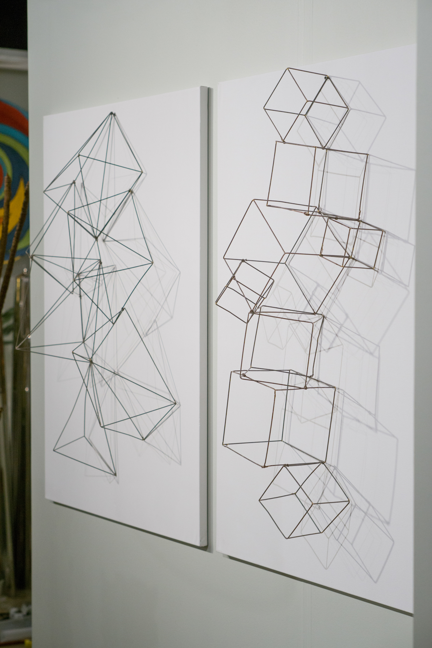 Wire Crystals and Cubes