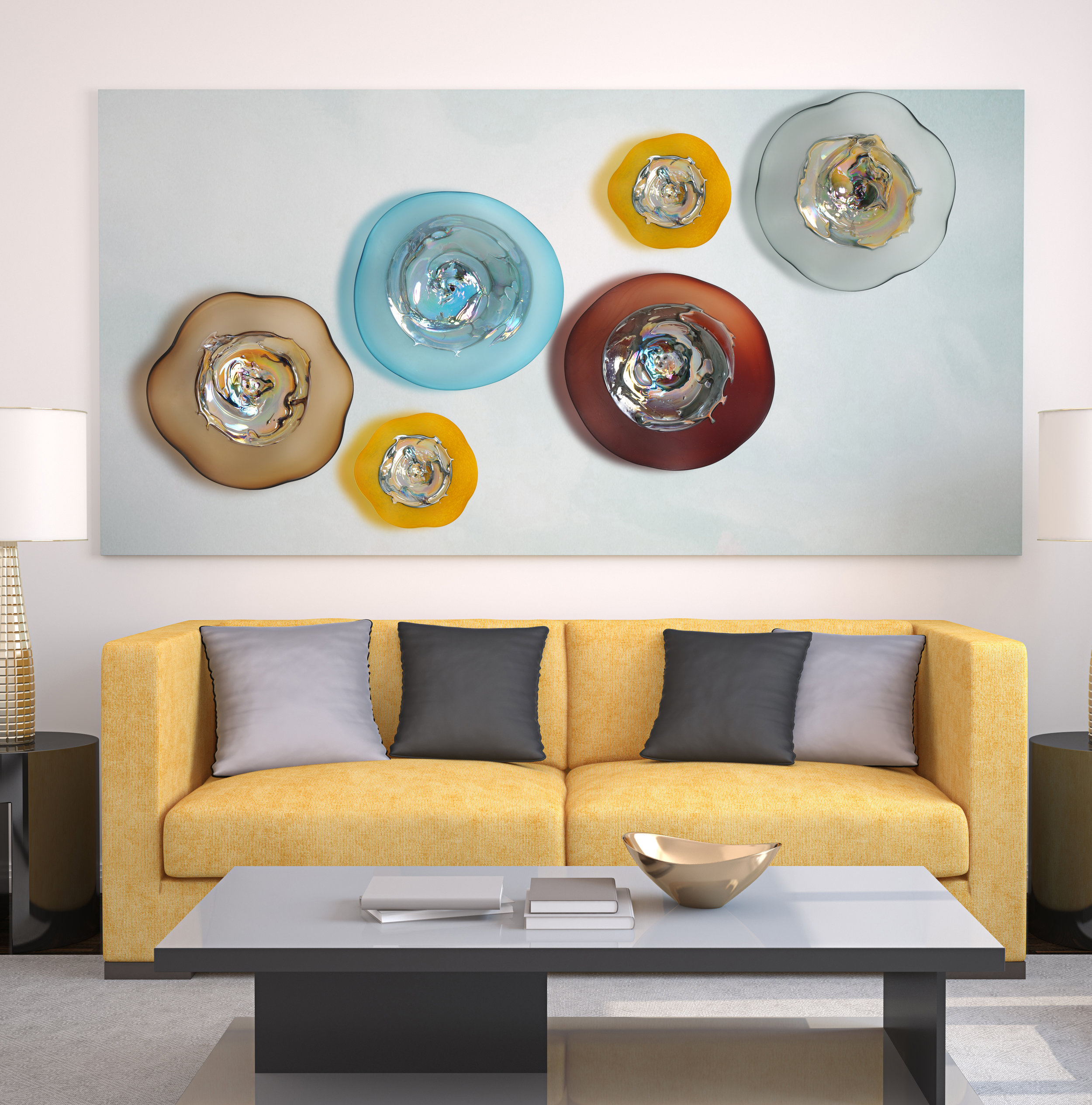 Iridescent Wall Plates