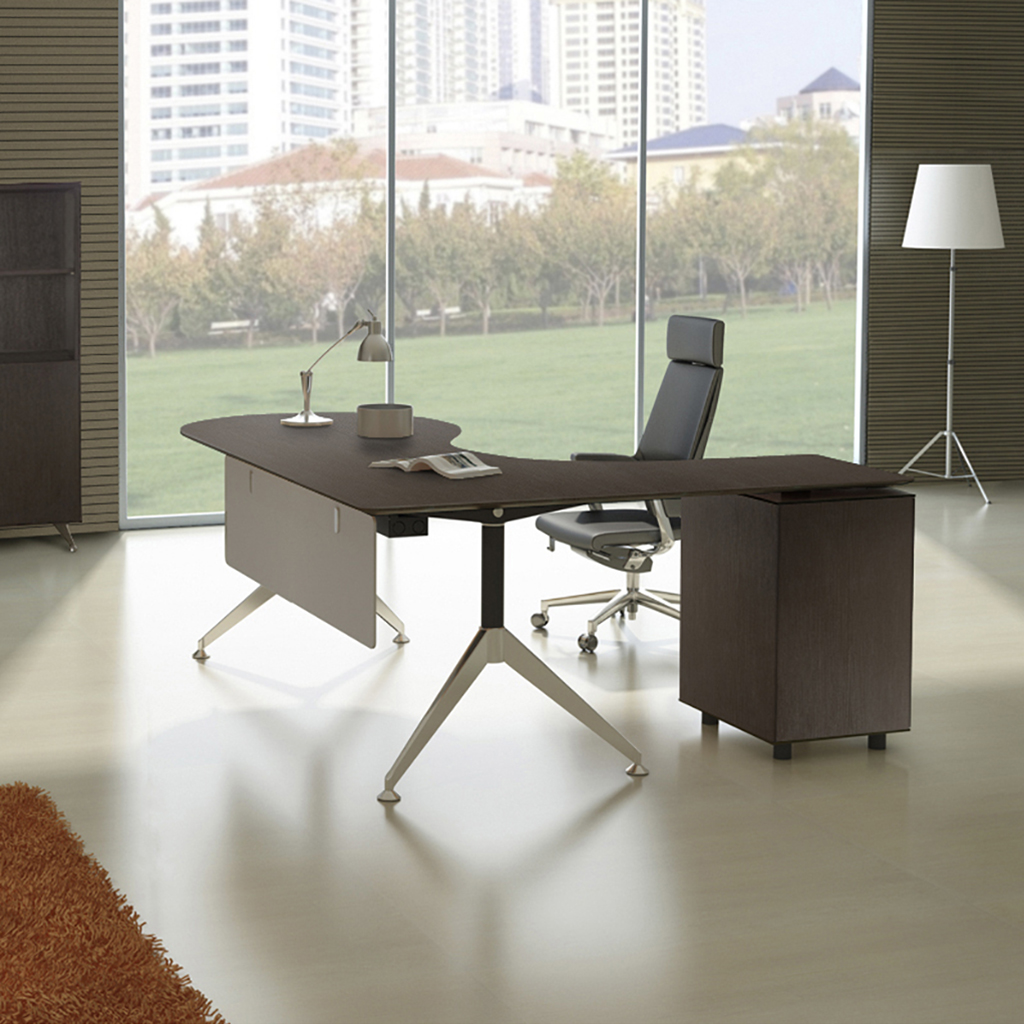 Executive Teardrop Desk
