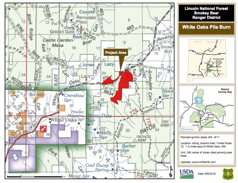White Oaks pile burn public info map.jpg