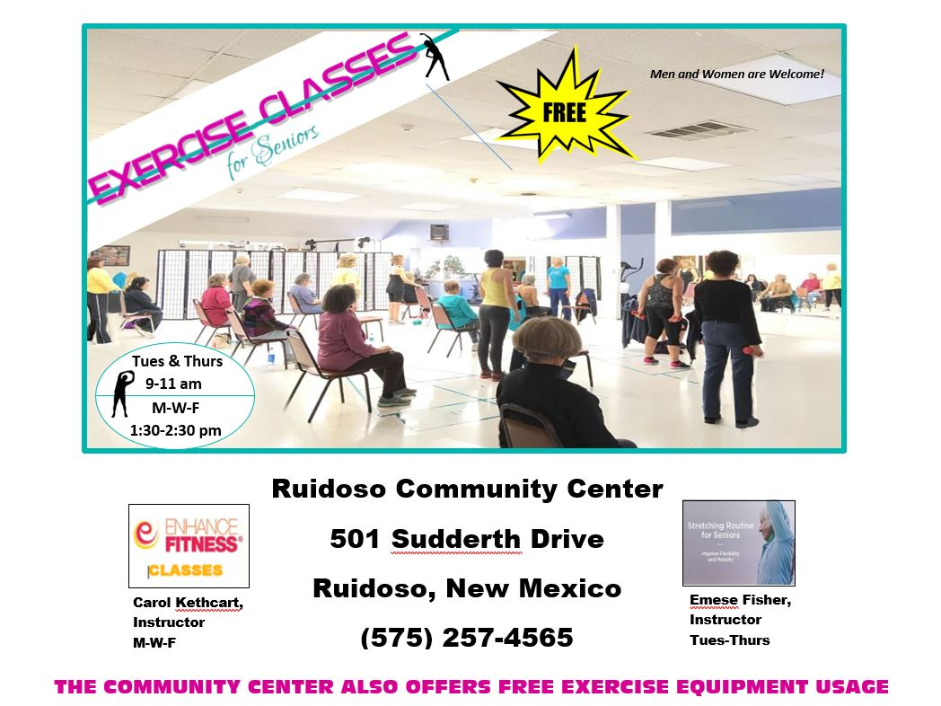Senior Fitness Ruidoso Community Center