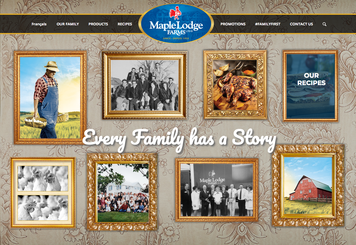 Maple Lodge Farm's home page.