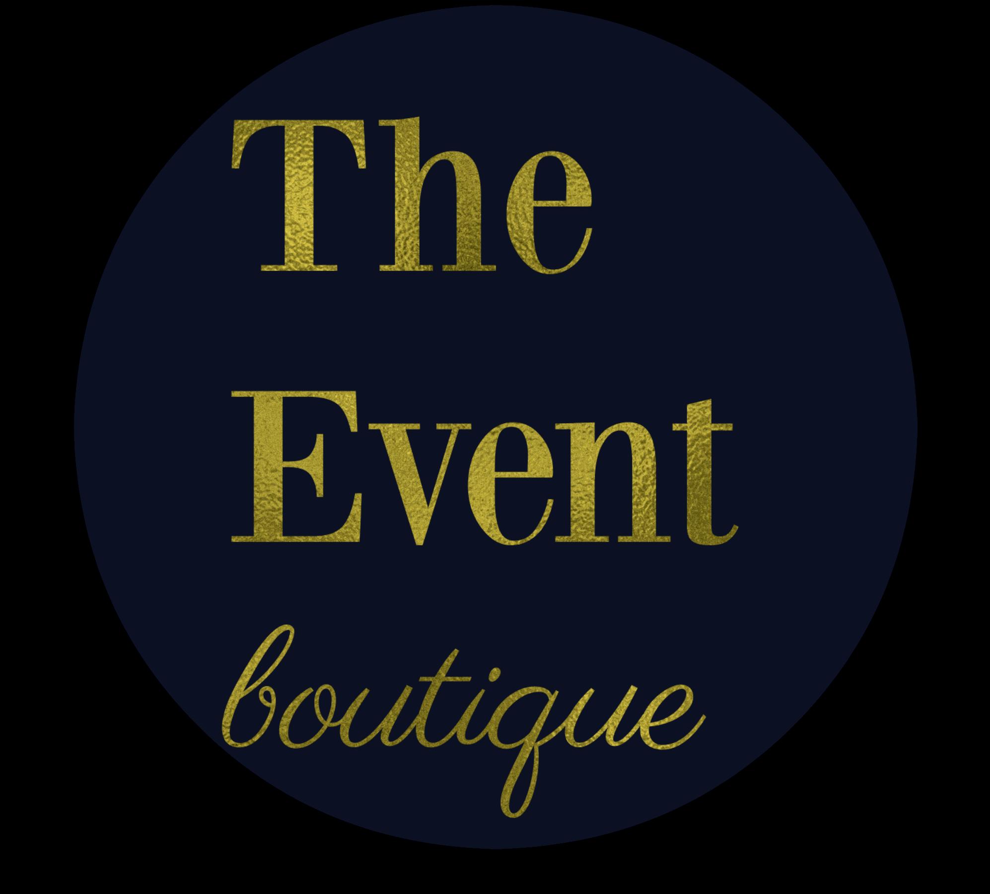 Favicon logo design for The Event Boutique