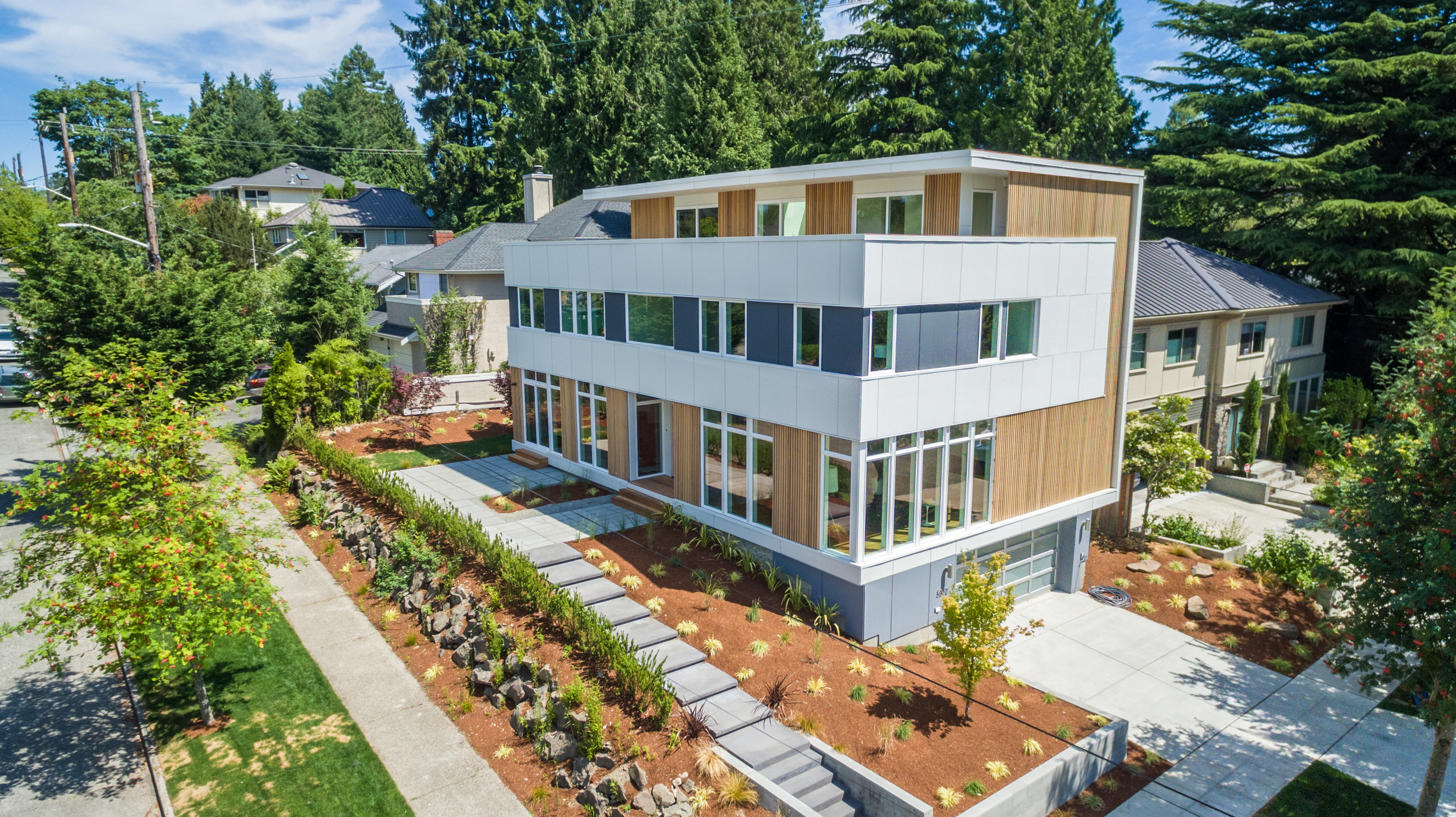 Hawthorne Hills Modern Custom Home